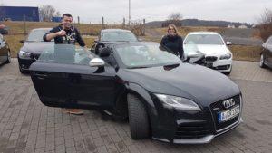 Audi TT RS Cabrio verkauft